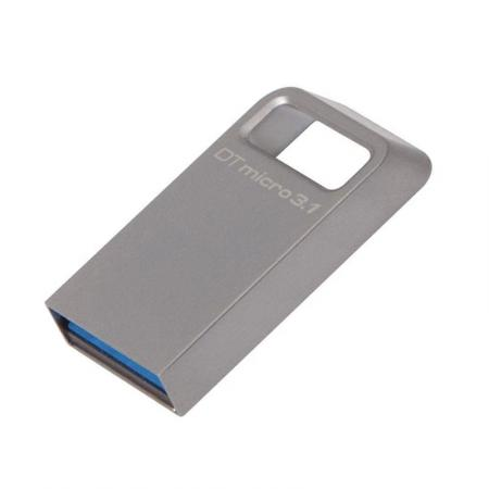 Kingston - DataTraveler Micro - USB Stick - 32 GB - Zilver